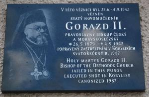 3 Pametni deska biskup Gorazd