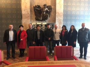 2019-10-11 zahr delegace na Pokrova v Praze