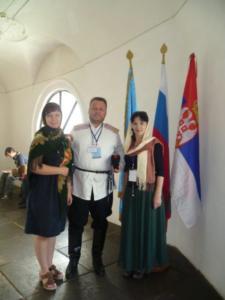 1 Svetovy kozacky kongres Dzyuba Scerbakova
