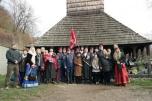 2015-11-21 Kozacka prisaha chram sv Arch Michaela v Praze