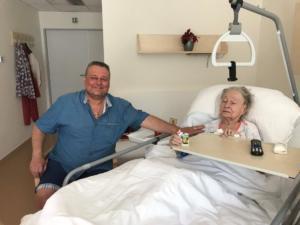 2018-04-29 navsteva Niny Ingris v Hospicu