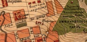 5-тюрьма на плане пятигорска 1902 года