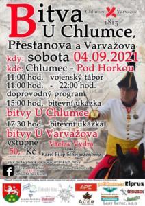 2021-09-04 bitva u Chlumce plakat